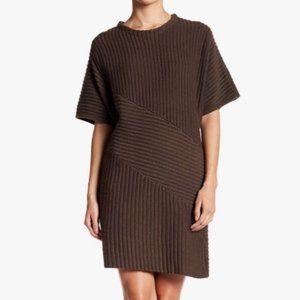 NWOT Astr the Label Dolman Ribbed Sweater Dress